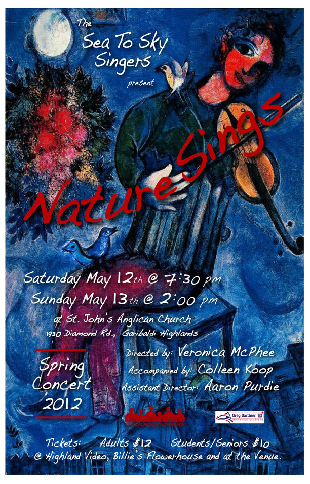 'Nature Sings' Spring 2012